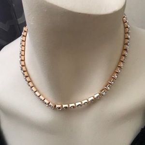 Jewelry - Rhinestone choker necklace